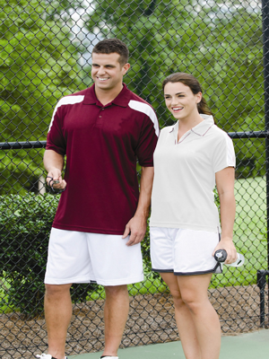 Proline Ladies 5.0 ounce 100% Athletic High-Performance Polo