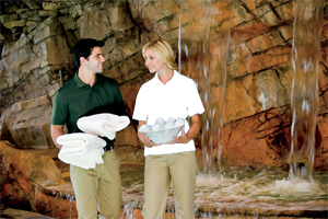 24/7 Ladies 4.5 Ounce 100% Polyester Performance Polo